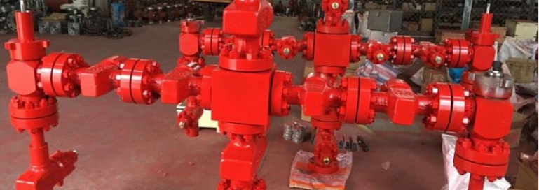 wellhead and Christmas parts